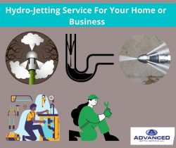 Hydro-Jetting Service For Your Home or Business