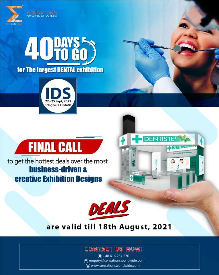 IDS Cologne Is An International Dental Show