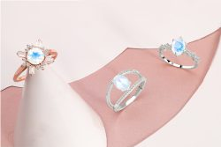 Buy Moonstone Ring at Rananjay Exports in Wholesale Price
