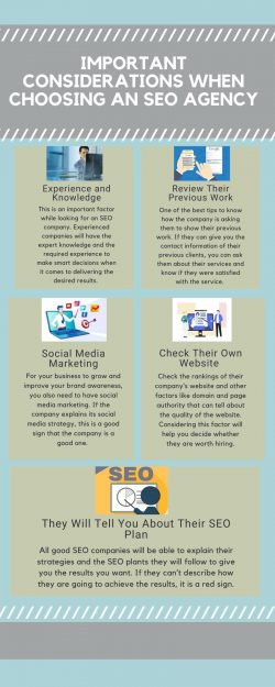 Important Considerations When Choosing an SEO Agency