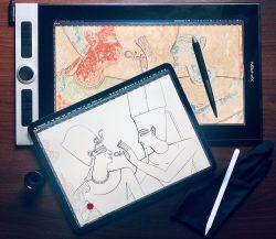 Las 5 mejores tabletas gráficas para diseño gráfico, arte y Ilustración digital