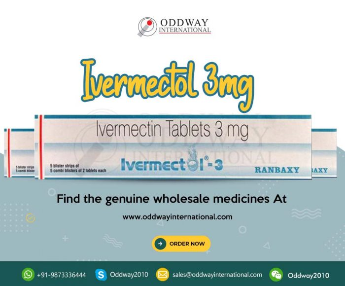 Buy Ivermectol 3 mg Ivermectin Tablets At Lowest Price Online