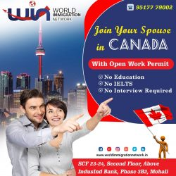 Join Your Spouse in Canada On Open Work Permit