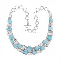 Buy Larimar Gemstone Jewelry Online