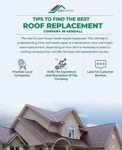 Tips To Find The Best Roof Replacement Company In Kendall