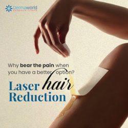 Underarm Laser Hair Reduction Treatment in Delhi