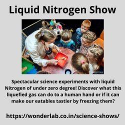 Liquid Nitrogen Show