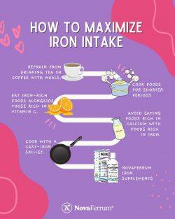 How to Maximize Iron Intake?