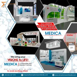 Exhibit In MEDICA Dusseldorf 2021 Trade Fair With Sensations Worldwide