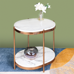 Get Lovely Designer Round Accent Table