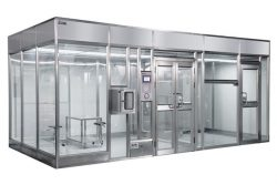 Where are the soft wall modular cleanrooms used?