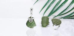Buy Natural Moldavite Jewelry at Best Price