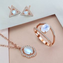 Moonstone Silver Jewelry for Women