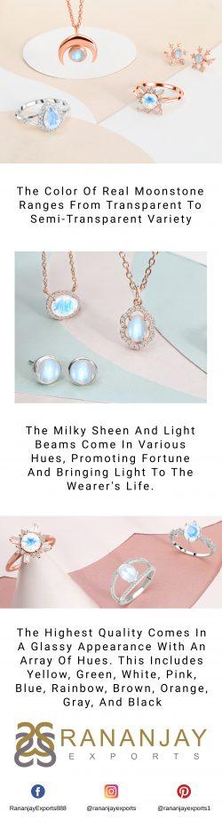 Moonstone Jewelry Online at Rananjay Exports