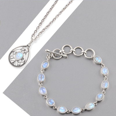 Wholesale Moonstone Jewelry Collections   Rananjay Exports