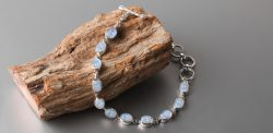 Natural Sterling Silver Moonstone Jewelry