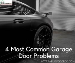 Most Common Garage Door Problems
