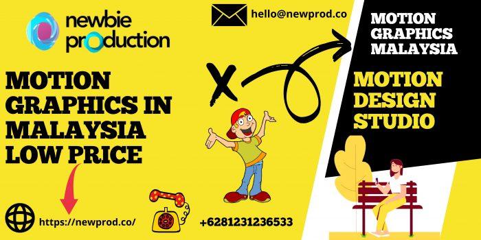Motion Graphic Malaysia price