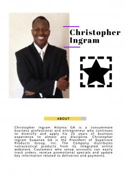 Christopher Ingram Good Entrepreneur
