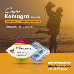 Super kamagra buy – Sildenafil Citrate 100mg & Dapoxetine 60mg