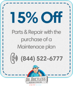 15% Off parts & Repair With The Purchase Of A Maintenance Plan