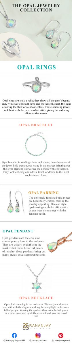 Wholesale Sterling Silver Opal Collection.