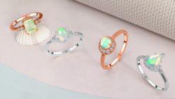 Buy Genuine Opal Ring at Wholesale Price.