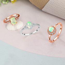 Buy Beautiful Golden Opal Ring