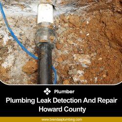 Choose Plumbing Leak Detection and Repair in Howard County