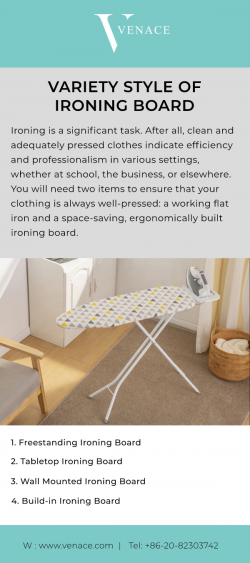 Variety Style Of ironing Board