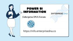Power bi Information