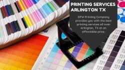 Printing Services Arlington TX