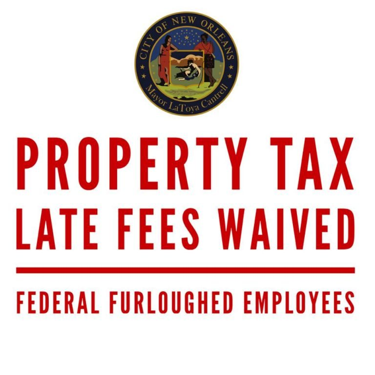 Mayor Cantrell: City will waive late fees on property taxes for furloughed federal workers