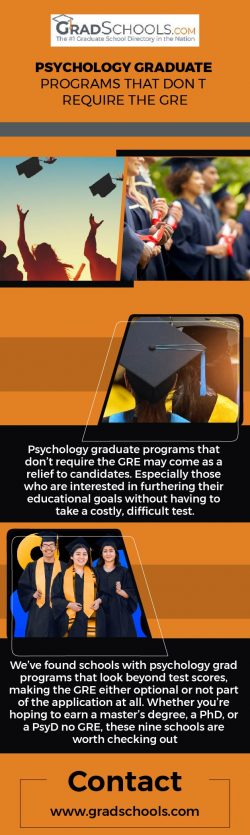 Psychology Graduate Programs That Don't Require The Gre
