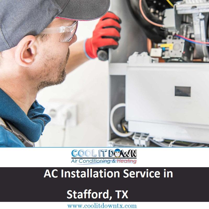 AC Installation Service in Stafford, TX