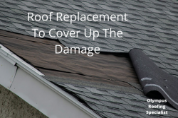 Roof Replacement Los Angeles To Cover Up The Damage