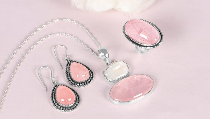 Trending Natural Rose Quartz Jewelry at Manufacturer Price.