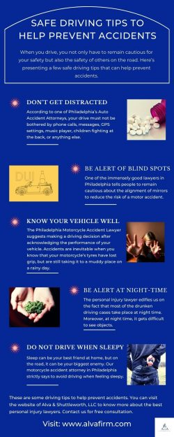 SAFE DRIVING TIPS TO HELP PREVENT ACCIDENTS