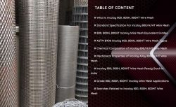 Incoloy 800/800H/800HT Wire Mesh