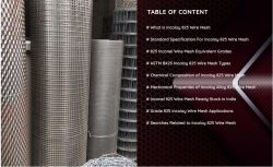 Incoloy 825 Wire Mesh