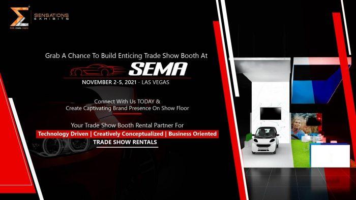Exhibit In SEMA Show with Sensations Exhibits