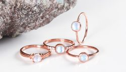 Real Sterling Silver Moonstone Jewelry