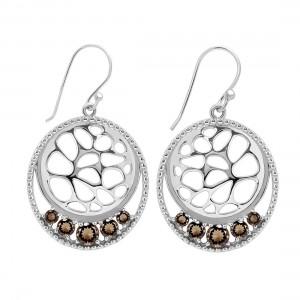 Handmade Sterling Silver Smoky Quartz Jewelry.