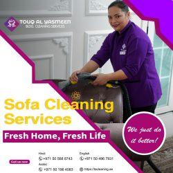 Sofa Cleaning Services in Sharjah, Dubai, & Ajman