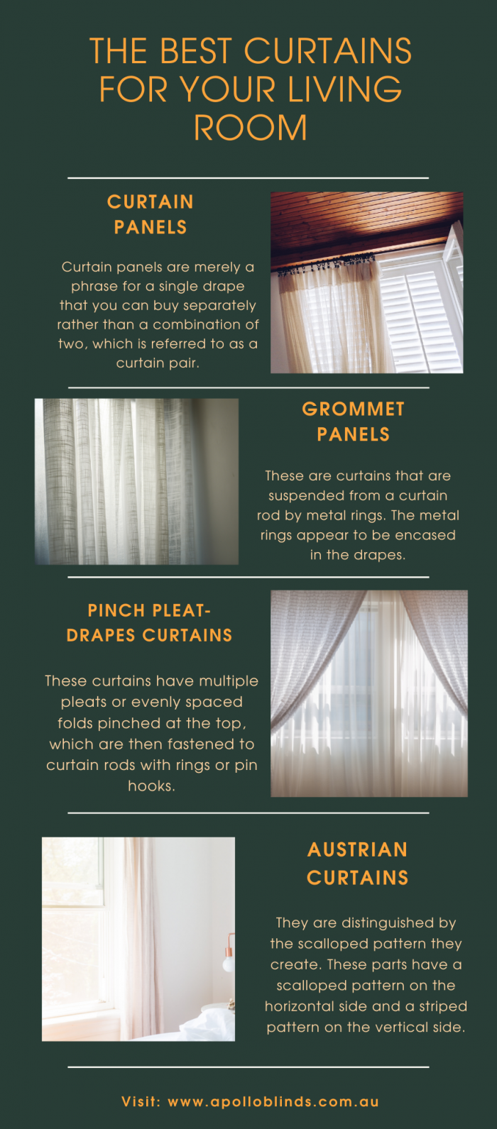THE BEST CURTAINS FOR YOUR LIVING ROOM