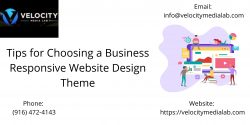 Tips for Choosing a Business Responsive Website Design Theme