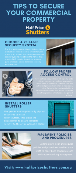 Tips to secure your commercial property