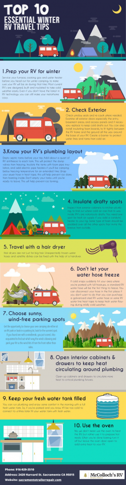 Top 10 Essential Winter RV Travel Tips
