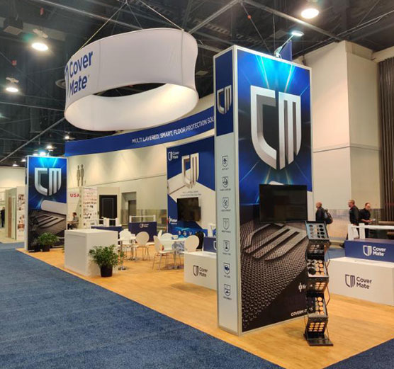 What are the tips to draw customers to your trade show booth?