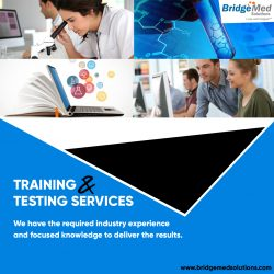 TRAINING & TESTING SERVICES